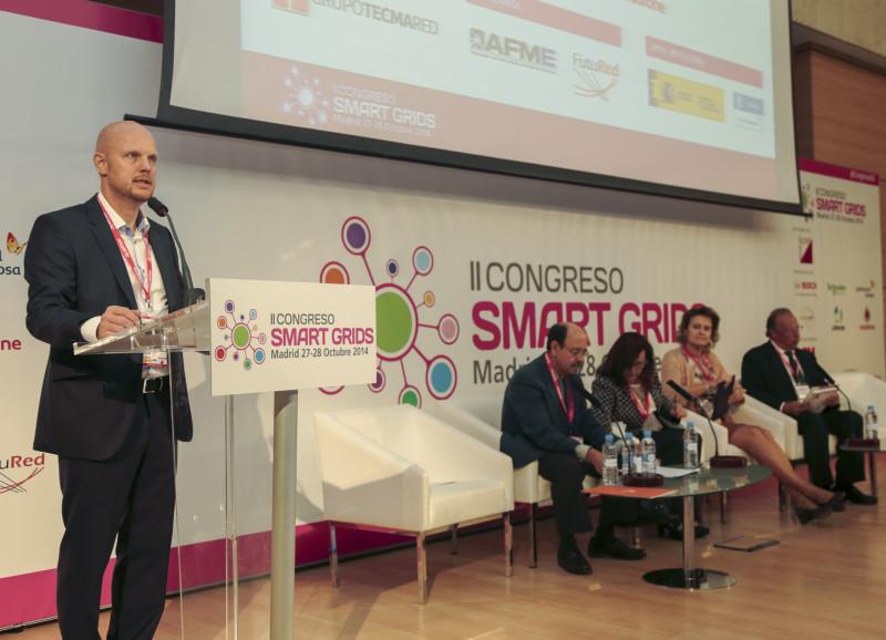 Stefan Junestrand Inauguración II Congreso Smart Grids