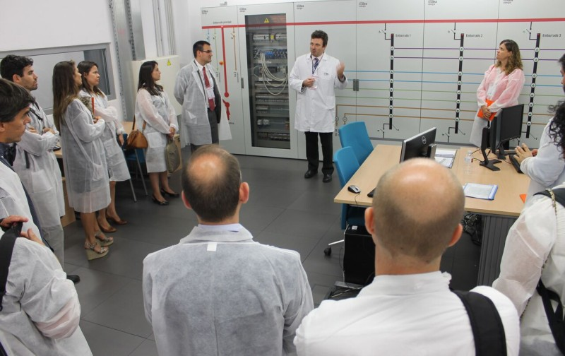 Visita laboratorio IV workshop SG