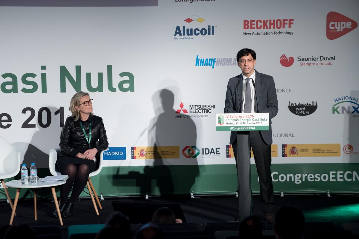 Clausura del 4 Congreso Edificios Energía Casi Nula con Inés Leal & Francisco Javier Martín