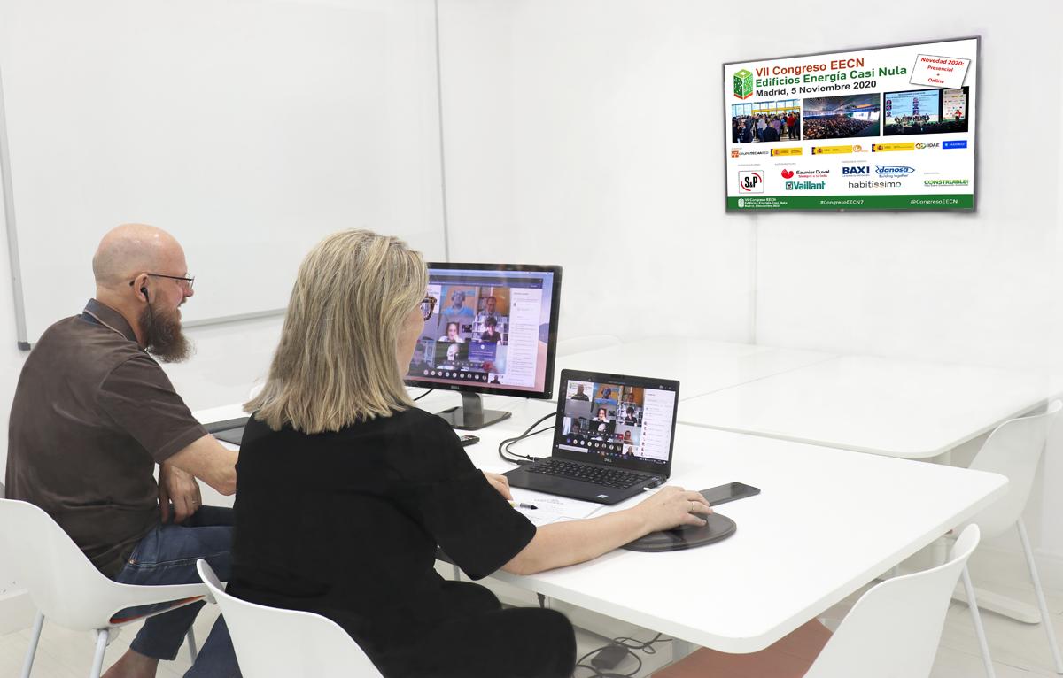Celebración virtual de la primera reunión