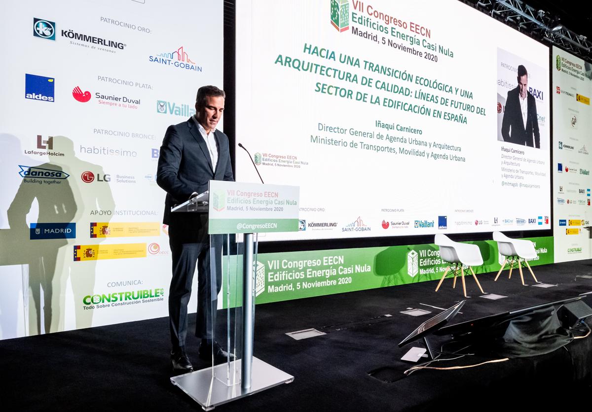 Iñaki Carnicero en la ponencia magistral