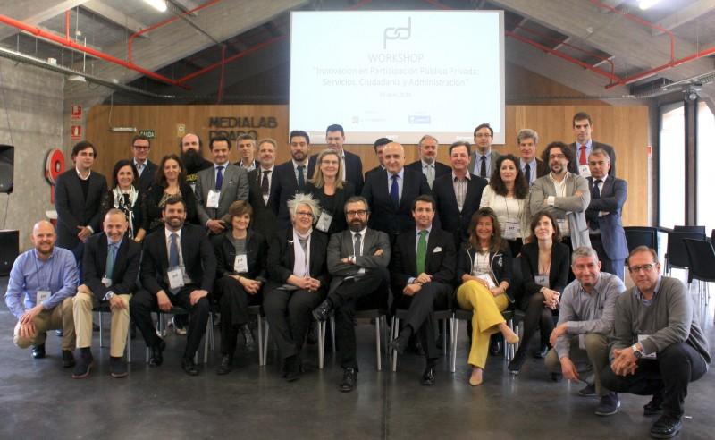 Foto 1. Participantes en el Workshop sobre Innovación en Participación Público Privada.